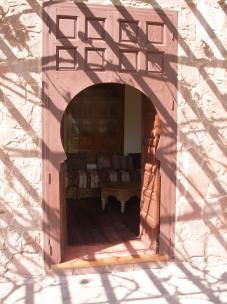 Porte sur le salon